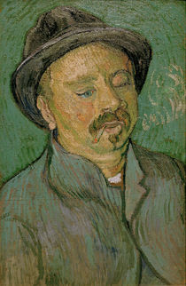 van Gogh / Portrait of a one-eyed man/1888 by AKG  Images