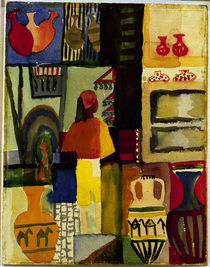 A.Macke / Jug seller / 1914 by AKG  Images