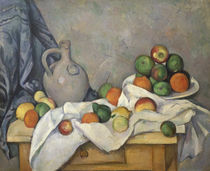 Cezanne / Still life wi. curtain, jar/c. 1893 by AKG  Images