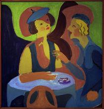 E.L.Kirchner, Zwei Damen im Café von AKG  Images