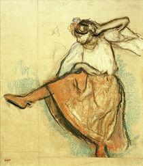 E.Degas, Russische Tänzerin von AKG  Images