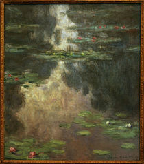 Monet / Waterlillies / 1907 by AKG  Images