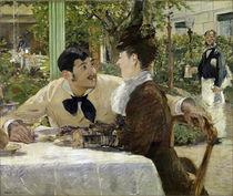 Manet / Chez le Pere Lathuille/1879 von AKG  Images