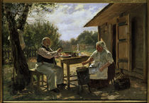 W.Y.Makovsky, Making Jam / painting by AKG  Images