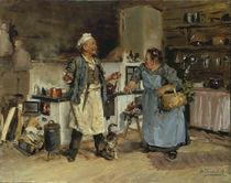W.J.Makowski, Streitgespräch in Küche von AKG  Images