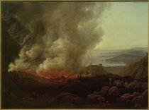 Der Ausbruch des Vesuv, Dezember 1820 / Gemälde v. J.Ch. Dahl von AKG  Images