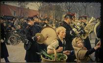 E.Henningsen, Wachablösung, 1888 von AKG  Images