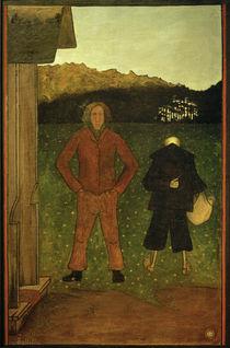 H.Simberg, Tod und Bauer von AKG  Images