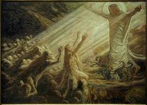 J.Skovgaard, Christus im Reich der Toten (Studie) von AKG  Images