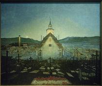 H.Sohlberg, Nacht (Kirche in Røros) by AKG  Images