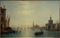 Venedig, Canal Grande, Blick auf S.Giorgio... / C.Morgenstern von AKG  Images