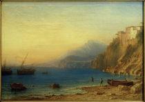 Torquato Tasso, Vaterhaus in Sorrent / Gemälde v. C.Morgenstern von AKG  Images