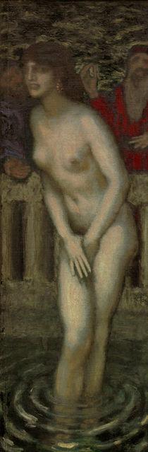 Susanna bathing / F. v. Stuck /  c. 1913 by AKG  Images
