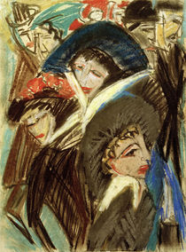 E.L.Kirchner / Women in athe Street by AKG  Images
