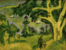 Ernst Ludwig Kirchner, The Lighthouse on Fehmarn by AKG  Images