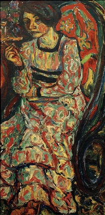 E.L.Kirchner / Woman in a Rocking Chair by AKG  Images
