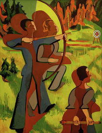 E.L.Kirchner, Bogenschützen von AKG  Images