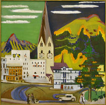 E.L.Kirchner / Davos Town Hall Square by AKG  Images
