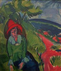 E.L.Kirchner / Erna at Fehmarn / 1913 by AKG  Images