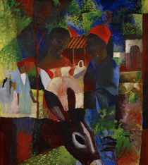 August Macke / Market in Tunis by AKG  Images