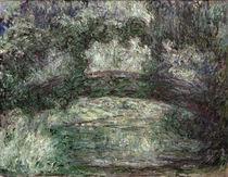 C.Monet, Die japanische Brücke von AKG  Images