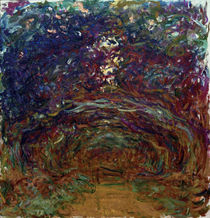 Monet / Path under Rose Arches by AKG  Images