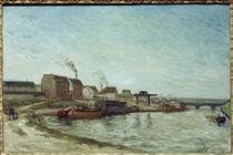 Gauguin, La Seine au Pont de Grenelle von AKG  Images