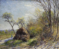 Sisley / Forest edge /  c. 1844 by AKG  Images