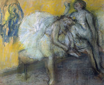 E.Degas, Two Dancers Relaxing by AKG  Images