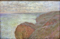 C.Monet, Auf der Steilküste bei Dieppe von AKG  Images