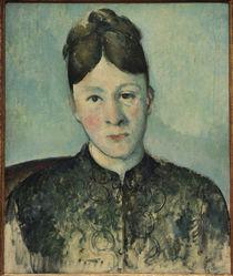 Cézanne / Portait of Madame Cézanne/c. 1885 by AKG  Images