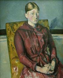 Cézanne / Portrait o. Madame Cézanne/c. 1888 by AKG  Images