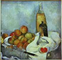 Cézanne / Bottles and peaches /  c. 1890 by AKG  Images