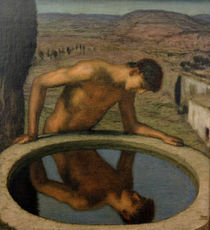 v. Stuck / Narcissus /  c. 1926 by AKG  Images