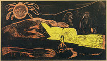Gauguin / Te Po (Great Night) / Woodcut by AKG  Images