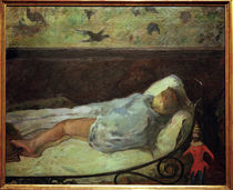 Gauguin / The Little Dreamer / 1881 by AKG  Images