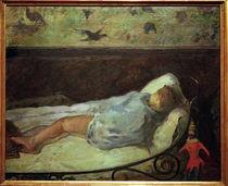 P.Gauguin, Die kleine Träumerin von AKG  Images