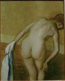 Edgar Degas, Rückenakt mit Handtuch... von AKG  Images