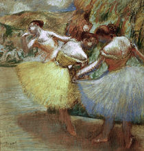 Degas / Three dancers /  c. 1897/1901 by AKG  Images