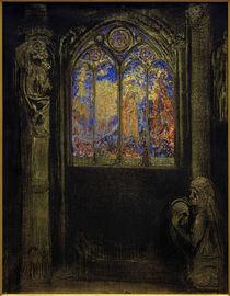 O. Redon, Kirchenfenster von AKG  Images