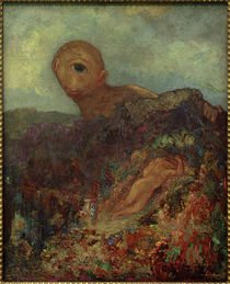 O. Redon, Der Zyklop by AKG  Images