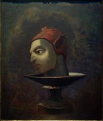 O. Redon, Das Haupt des Perseus (Das Haupt des Merkur auf einer Schale) von AKG  Images
