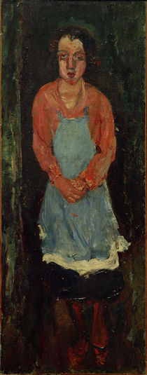 Ch. Soutine, Cook in a blue apron / painting by AKG  Images
