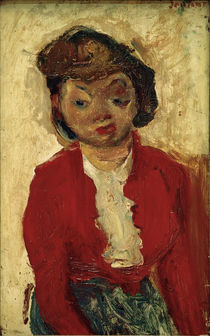 Ch. Soutine, Young Englishwoman / painting, c. 1934 by AKG  Images