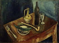 Ch. Soutine, Still life with pipe / painting by AKG  Images