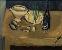 Ch. Soutine, Still life with soup tureen / painting by AKG  Images