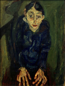 Ch. Soutine, The Mad Woman / painting 1919 by AKG  Images