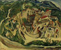 Ch. Soutine, View of Cagnes / painting 1922/23 by AKG  Images