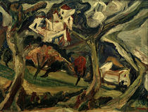 Ch. Soutine, The Capuchin Monastery in Céret / painting by AKG  Images