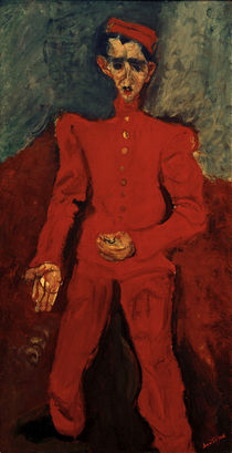 Ch. Soutine, Page Boy at Maxims / painting, 1925 by AKG  Images